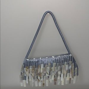 Stella McCartney bag with pearl fringes
